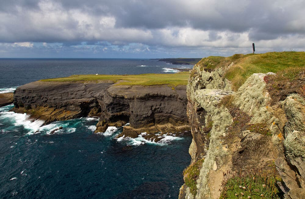 Go cliff diving in Kilkee – jump into the Atlantic.