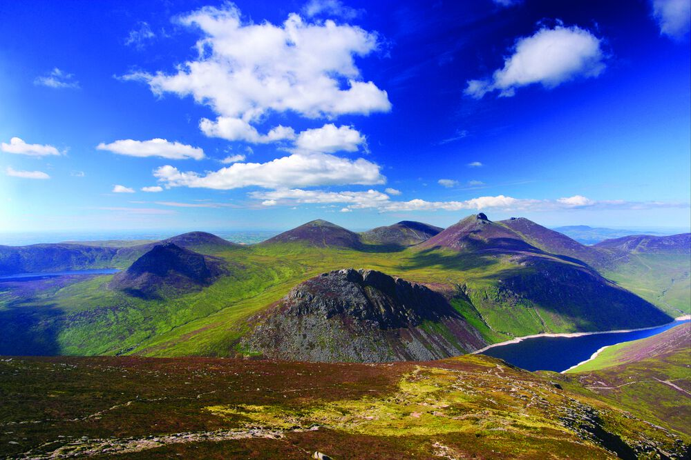The Mourne Wall Walk is one of the best hikes in Ireland.