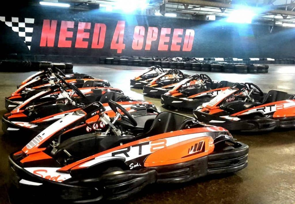Need4Speed Indoor Karting – for a close brush with the barriers