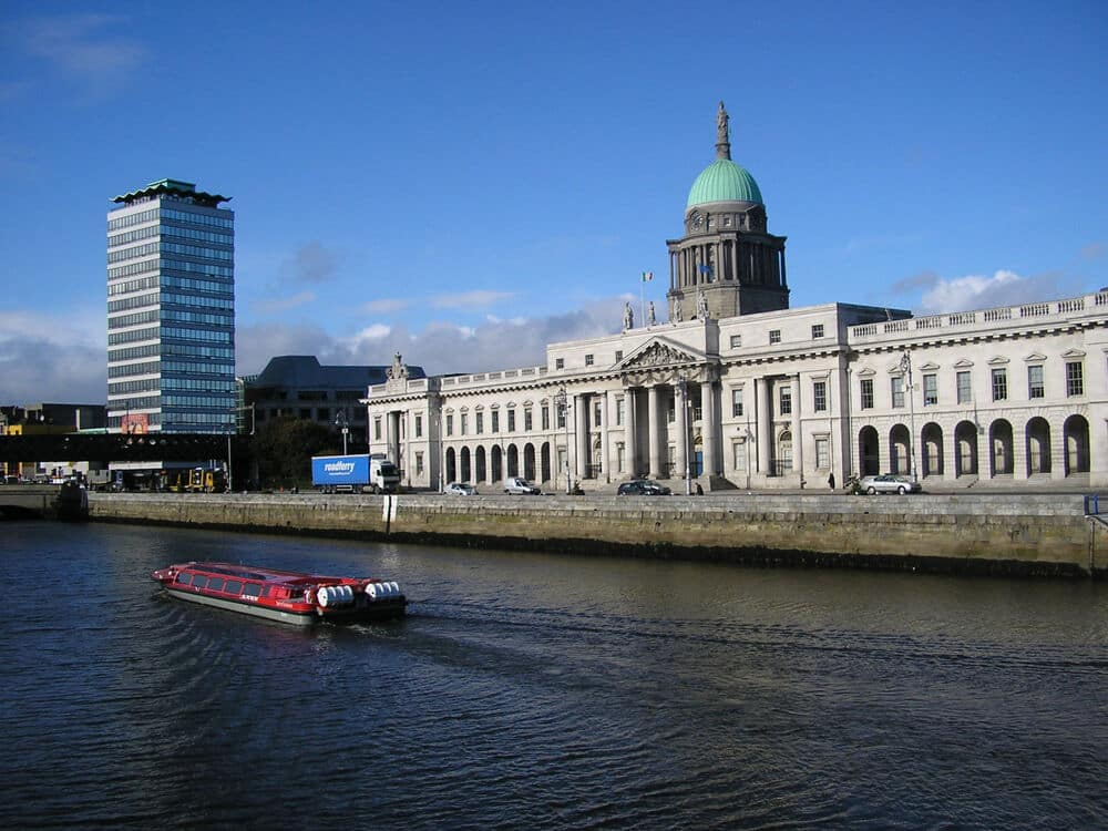The Dublin Discovered Boat Tours is one of the best river cruises in Ireland.