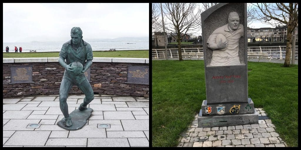 Top 5 famous sports statues in Ireland