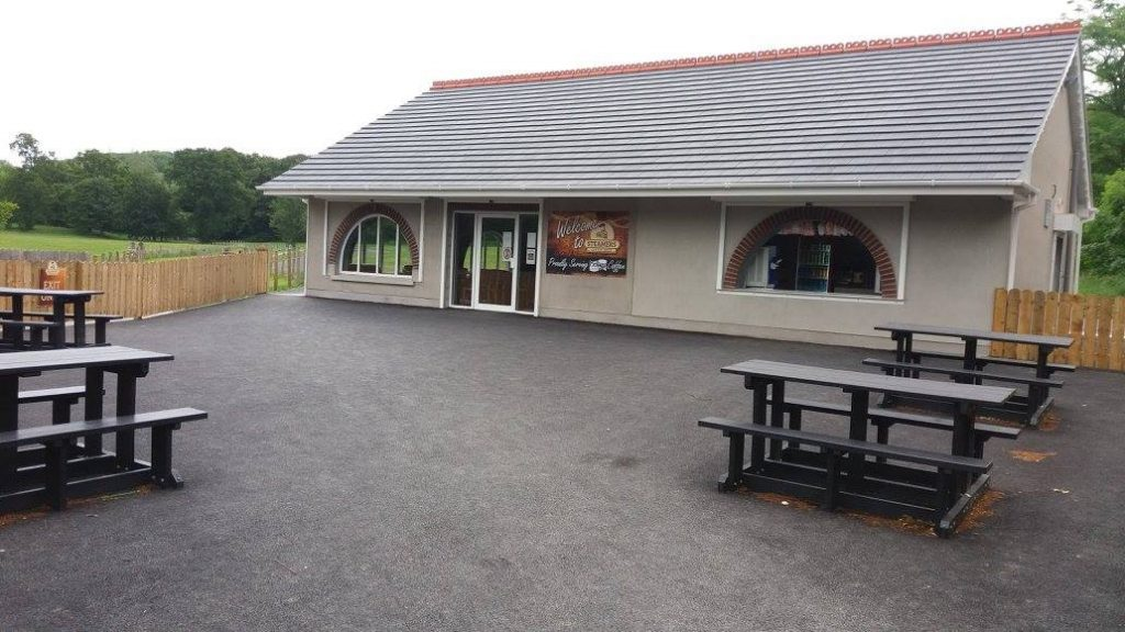 Steamer's Coffee Shop – for beautiful views of a county park