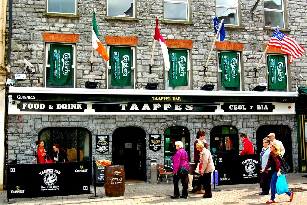 Taaffes Bar – good for catching a game and a song