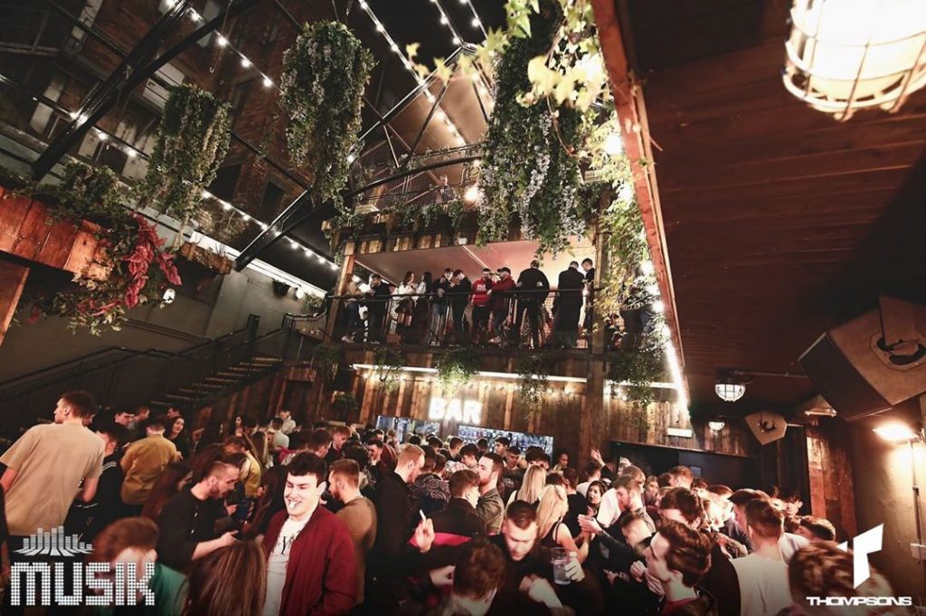 Thompson's Garage kicks off our list of the top five nightclubs in Belfast.