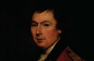 A portrait of Waddell Cunningham, who wanted to form the Belfast Slave-Ship company.