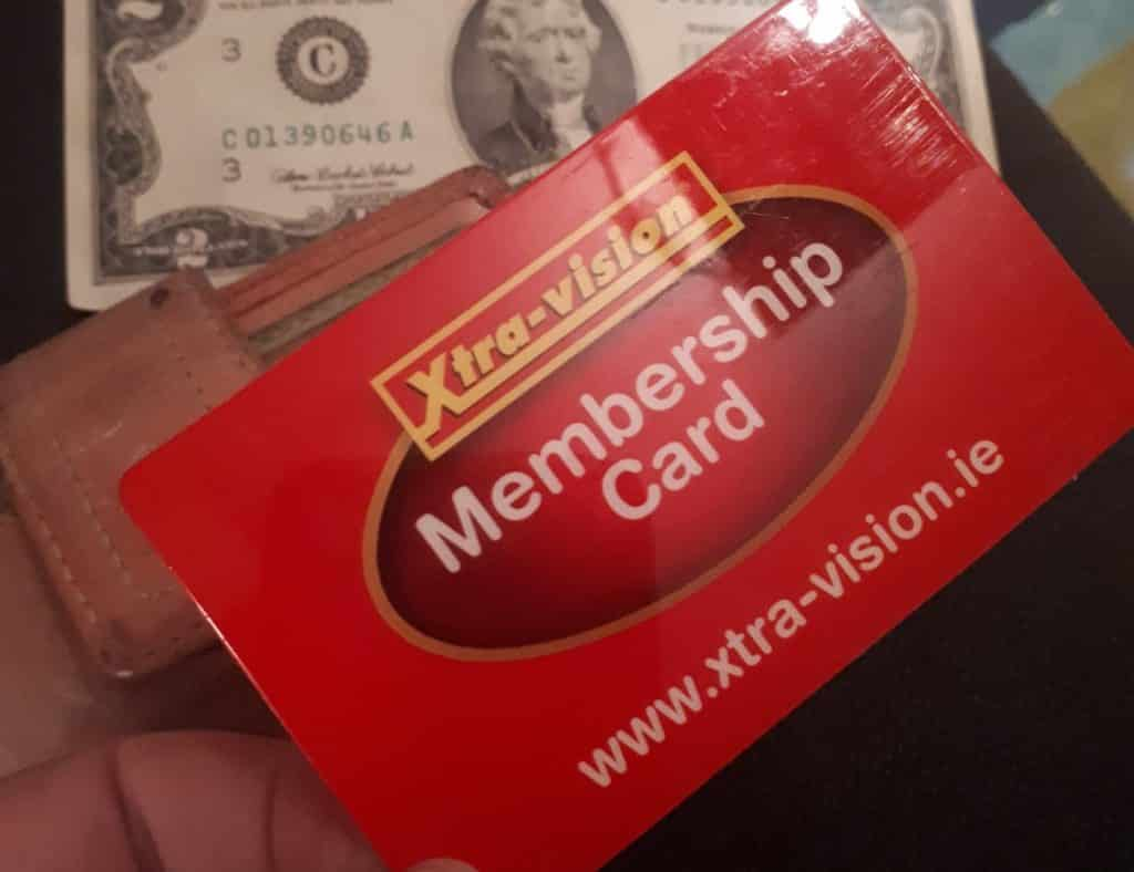 Having an Xtravision Card – the proud moment you became a member