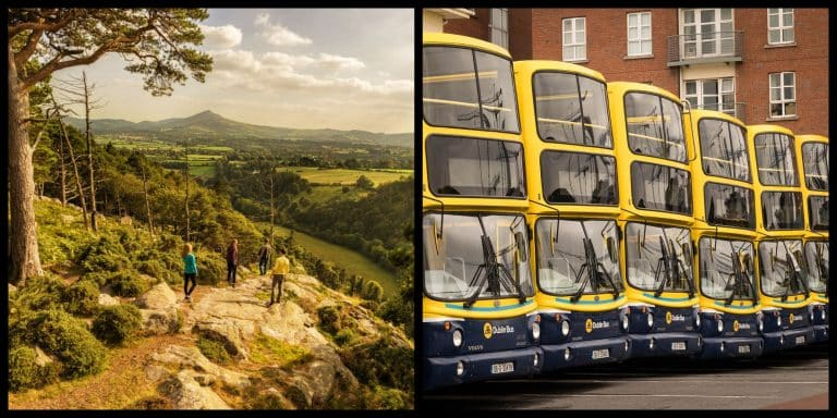 10 amazing sites you can get to by Dublin Bus