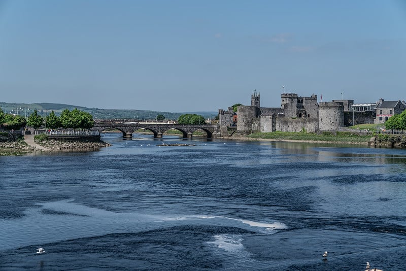The River Shannon passes through Limerick city, among many other places.