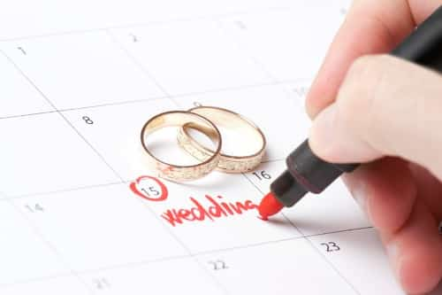 Use this detailed wedding checklist – to keep yourself right