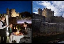 5 hotels in Ireland with a castle view