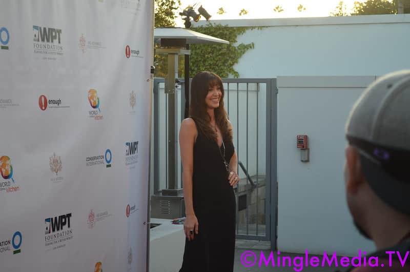 American actress Shannon Elizabeth.