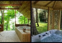 5 romantic cottages for 2 with hot tub in Ireland