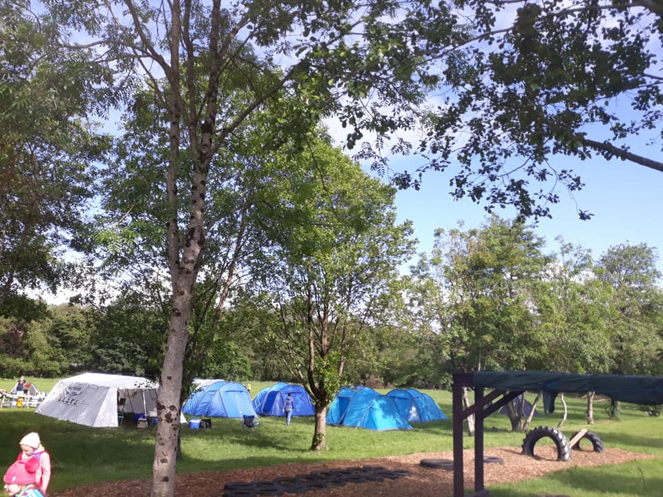 Castleconnell Campsite (Castleconnell) - a group campsite for water sport enthusiasts