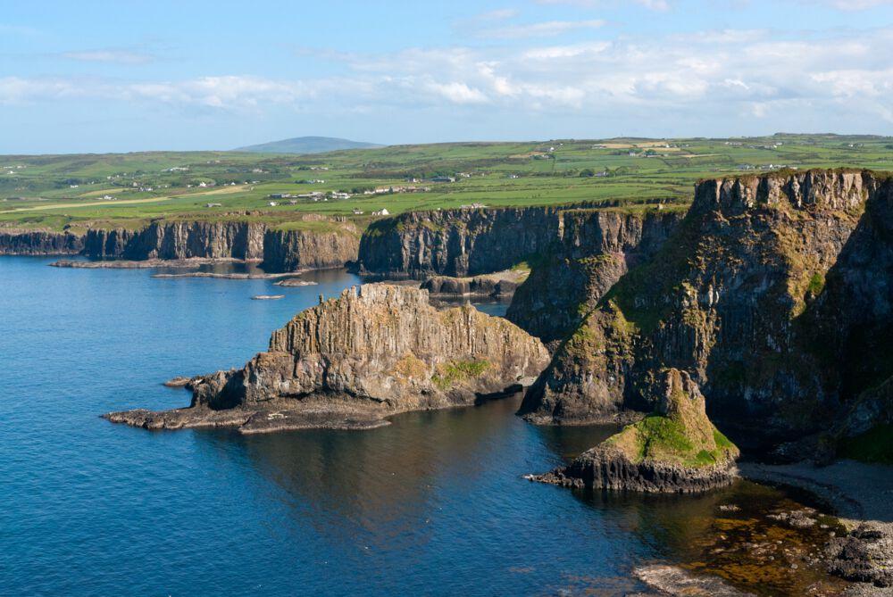 Causeway Coastal Route (Co. Antrim) – one of the best cliff walks in Ireland