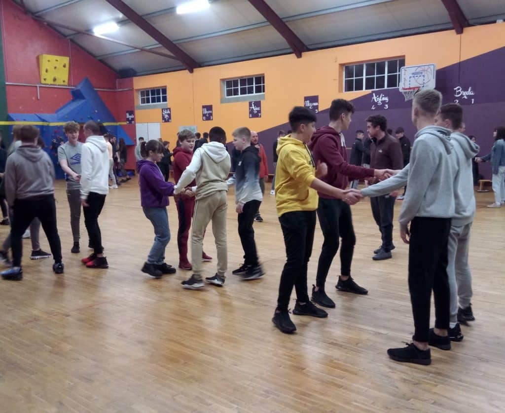 Fancy Dress Discos and Ceili's – participating in Irish culture
