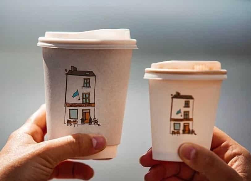 Coffeewerk + Press - enjoy fair-trade coffee in an artsy setting