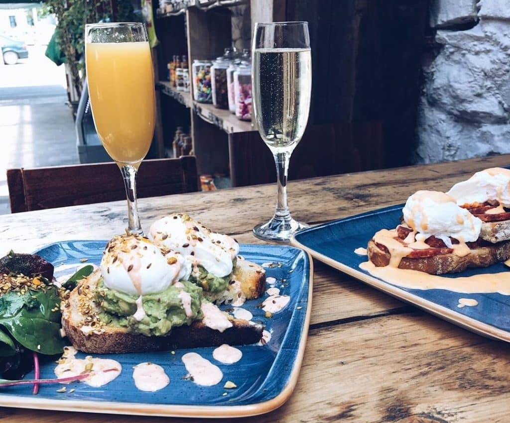 Crawford & Co - for a jazzy breakfast feast in a historical setting