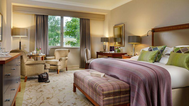 Druid's Glen Resort in County Wicklow is one of the best family hotels in Ireland.