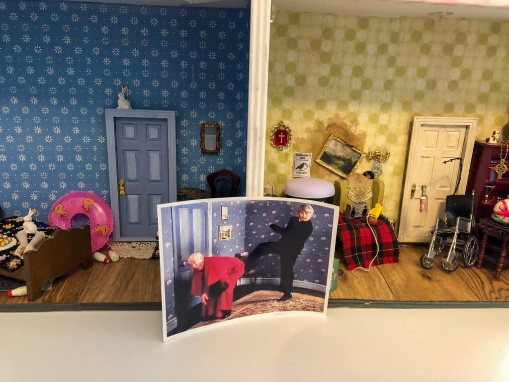 The Father Ted dolls house was a project that started as a bit of fun in the 1990s.