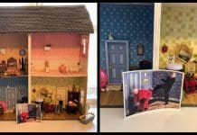 Father Ted fan designs incredible replica parochial dolls house