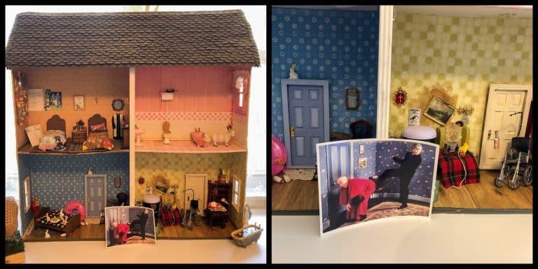Father Ted fan designs incredible replica parochial dolls house