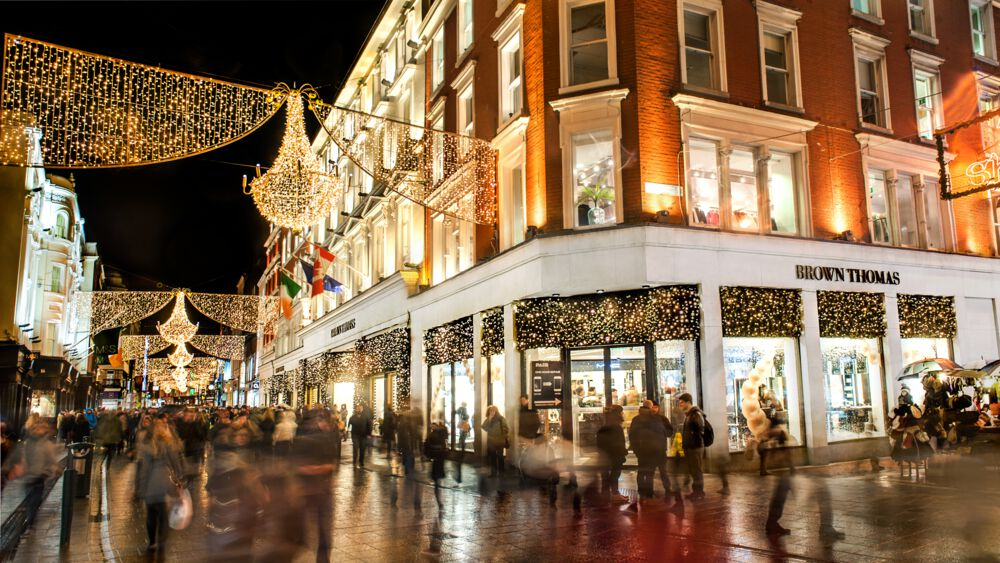 Another of the top photo-worthy locations in Dublin is Grafton Street, especially for Christmas.