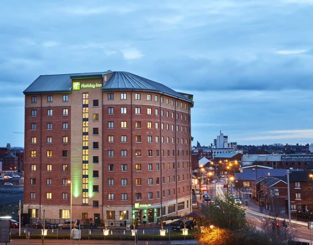 Holiday Inn Belfast City Centre – where kids stay and eat for free