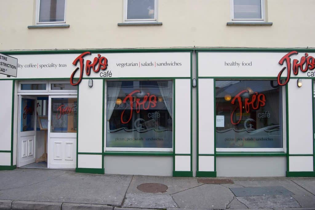 Joe's Cafe in Co. Clare is one of the best vegan-friendly brunch stops.