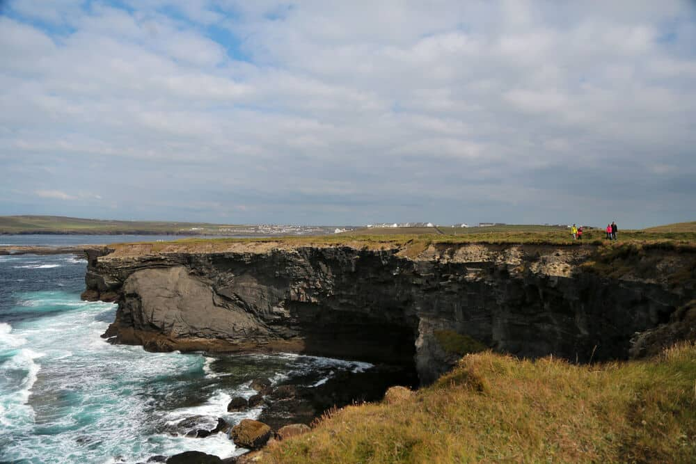 Kilkee Cliff Walk (Co. Clare) – for the alternative to the Cliffs of Moher