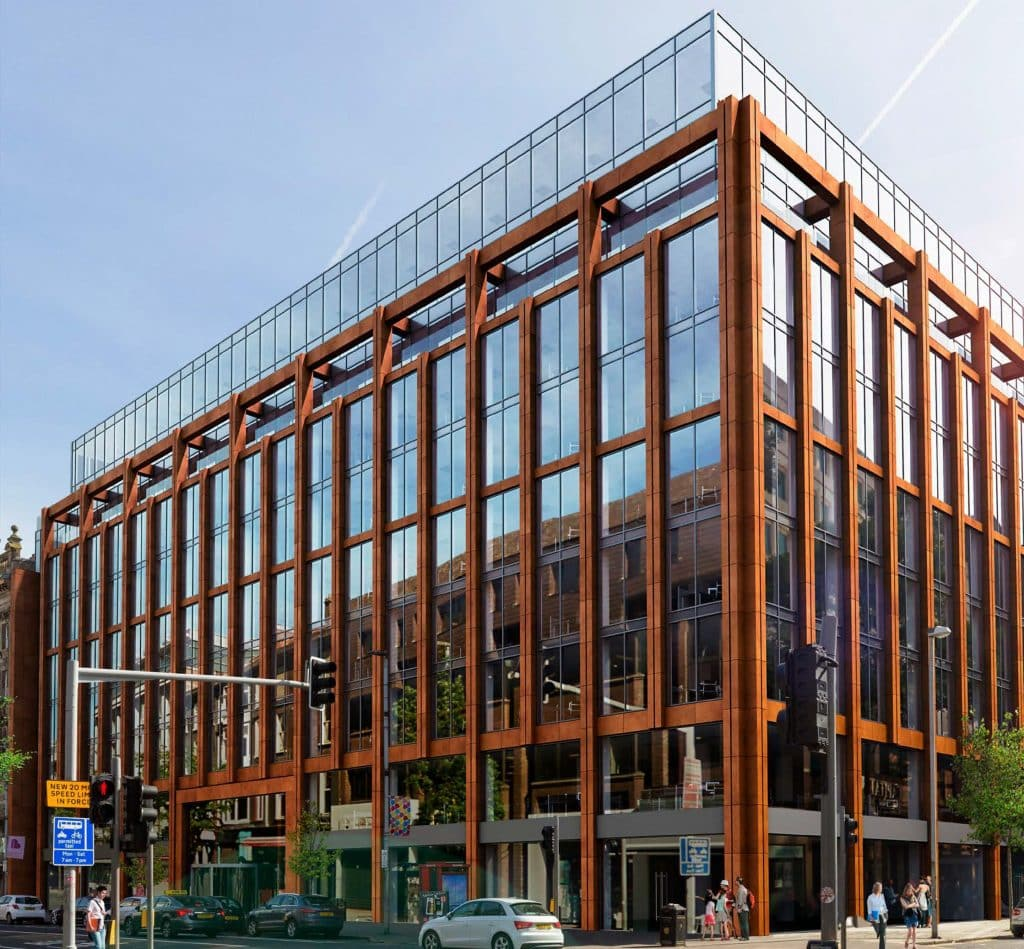 The Merchant Square development will be a modern masterpiece in the heart of the city.