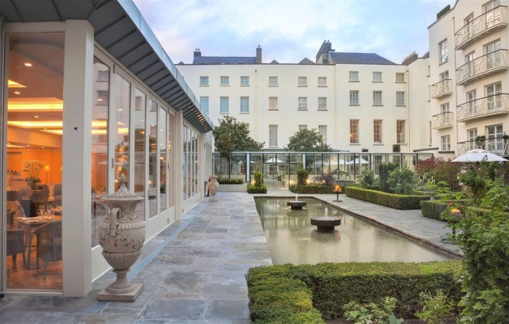 The 5 star Merrion Hotel is one of the best family hotels in Ireland.