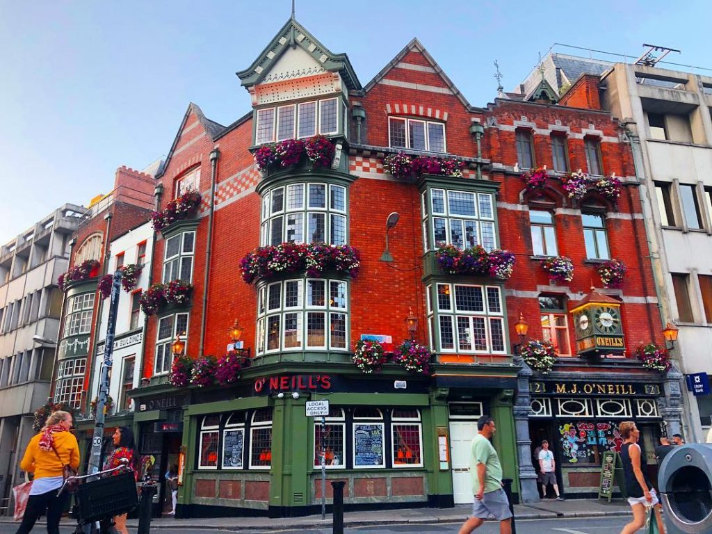 O'Neills Pub and Kitchen is a great spot for your stew fix in Dublin.
