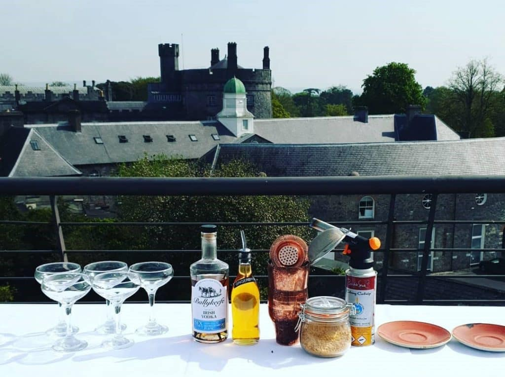 The Pembroke is one of the best hotels in Ireland with a castle view.