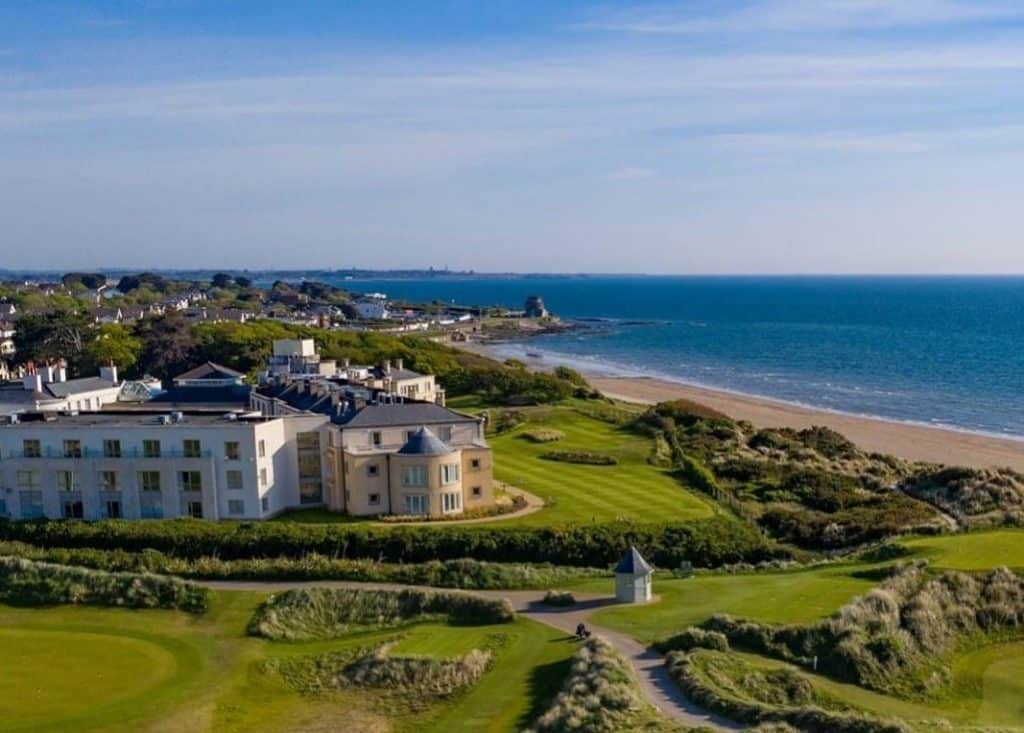 Portmarnock, Hotel and Golf Links, Portmarnock – a sophisticated hotel not just for golf fans