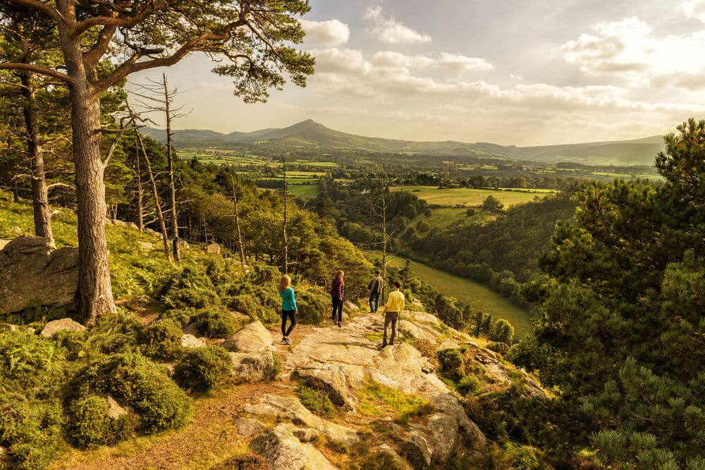 The Scalp, Co. Dublin – for breath-taking views of the surrounding valley