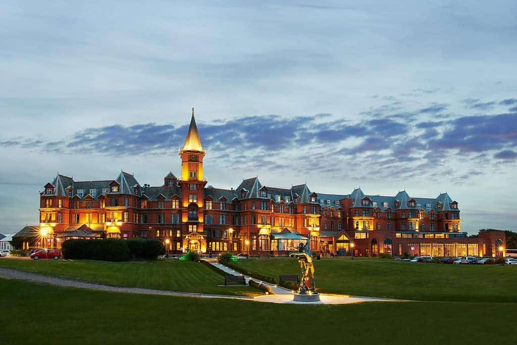 Slieve Donard Resort and Spa (Co. Down) – for panoramic views of the Mourne Mountains