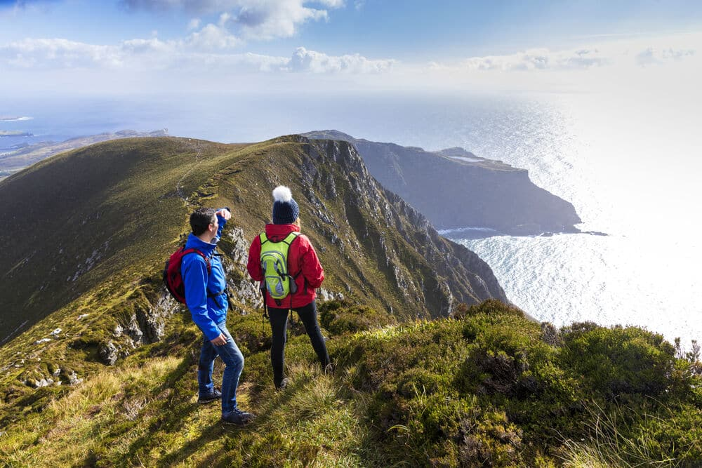 Marvel at Slieve League.