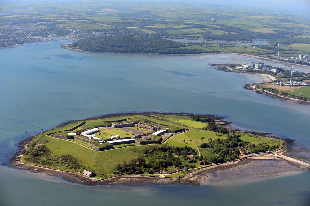 Spike Island can be reached from the seaside town of Cobh, which is easily accessible via train or bus from Cork City.