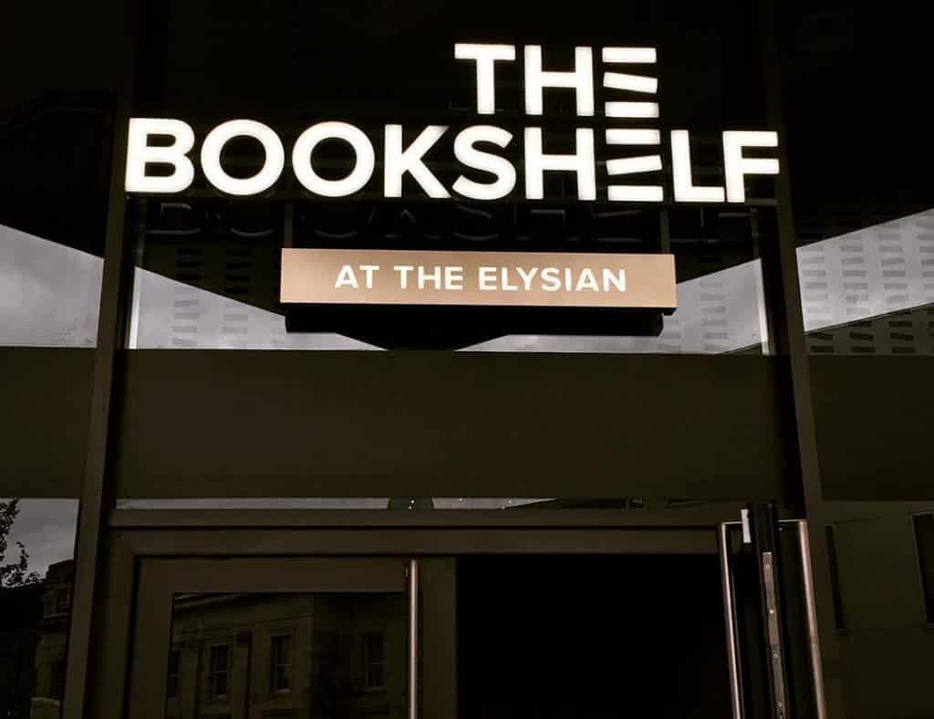 The Bookshelf – sophisticated brunch