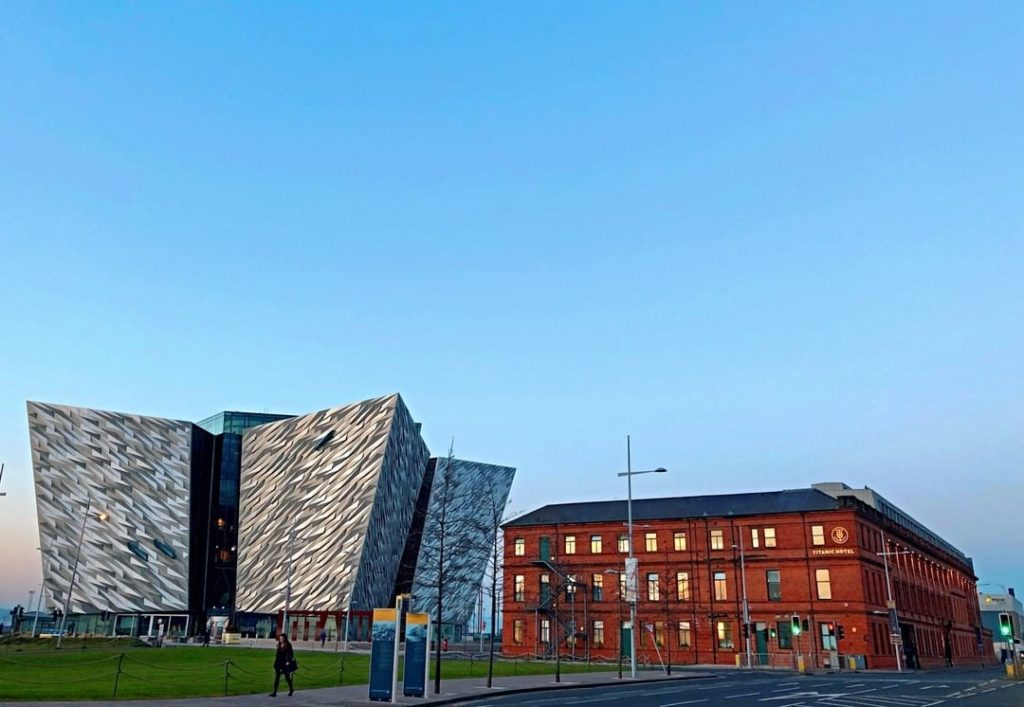 Titanic Hotel Belfast - an indoor glamping experience near the world's famous ship