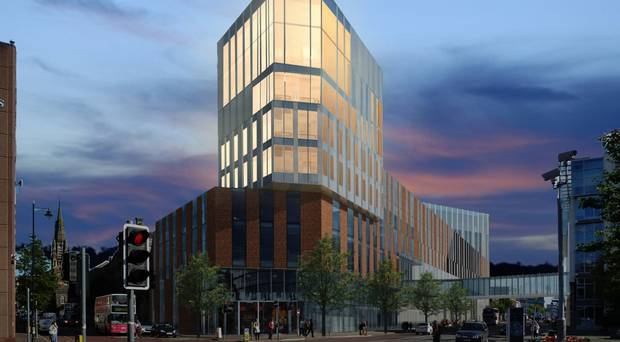 Ulster University Belfast Campus Phase 2 - study in the heart of the city