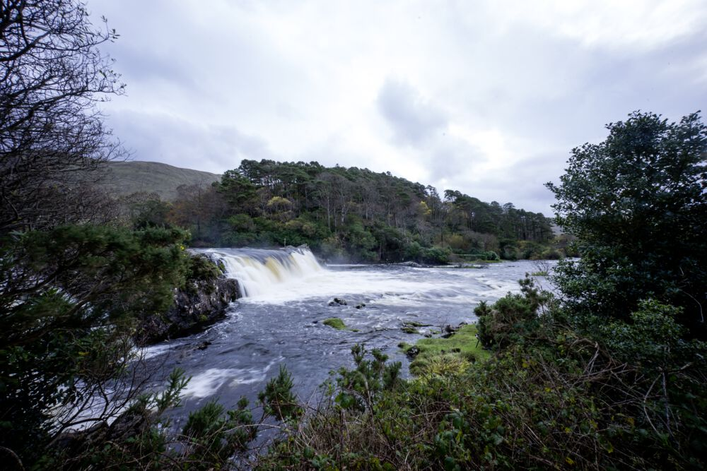 Aasleagh Falls, Co. Mayo / Co. Galway - a stunning waterfall right on the Atlantic Wild Way