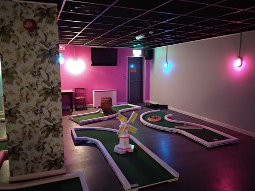Be sure to visit The Back Nine Crazy Golf in the Back Page Sports Bar.