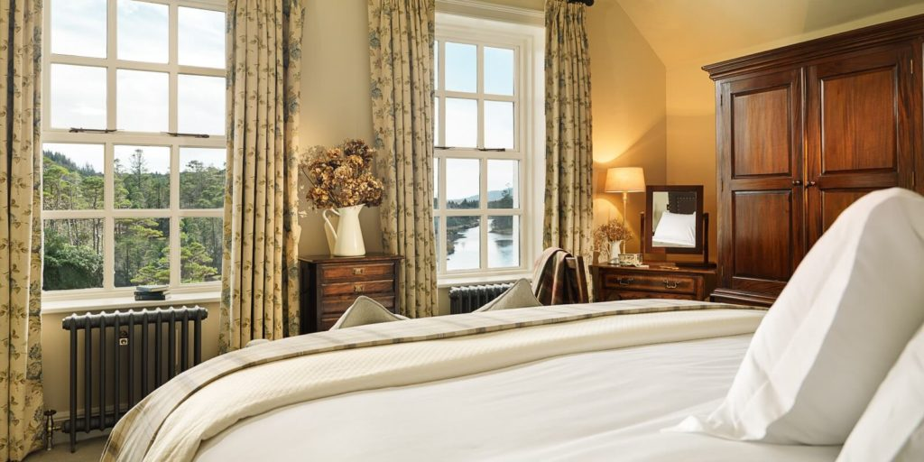 Ballynahinch Castle, Co. Galway - a luxury castle hotel for outdoor fans visiting Connemara