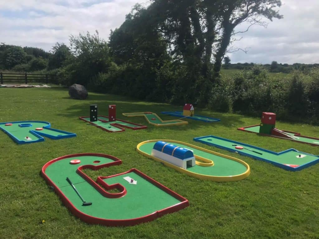Another of the best places for crazy golf in Limerick is Mini Crazy Golf Hire.