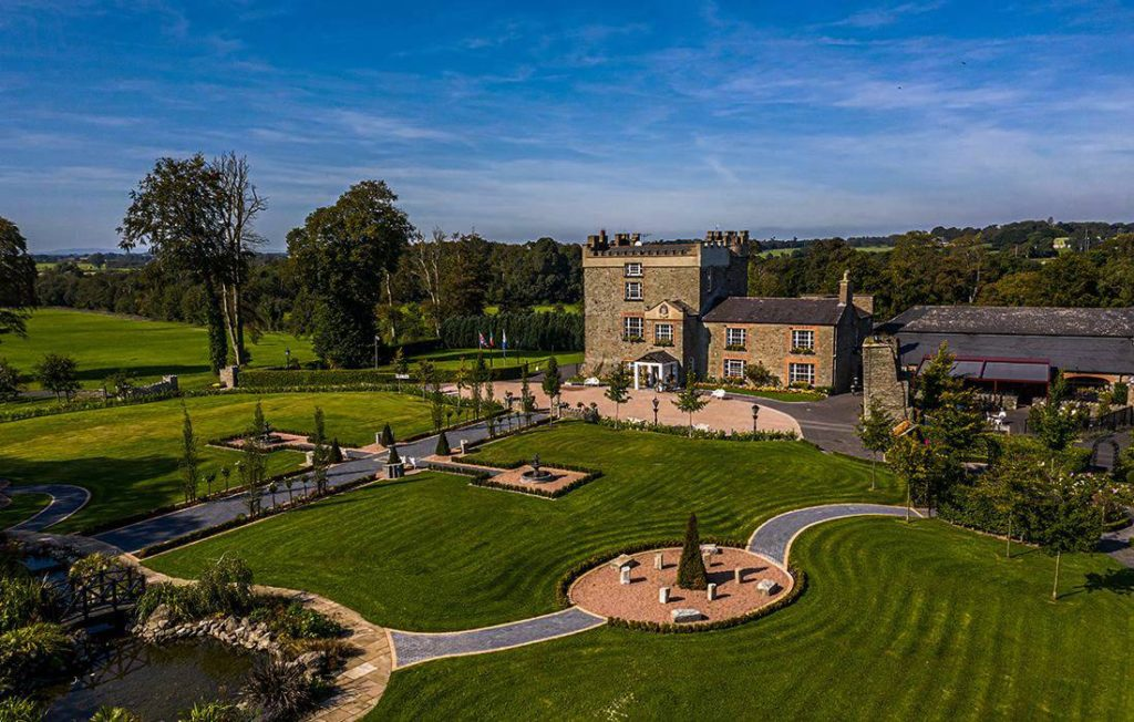 Another of the best castles for weddings in Ireland is Darver Castle.