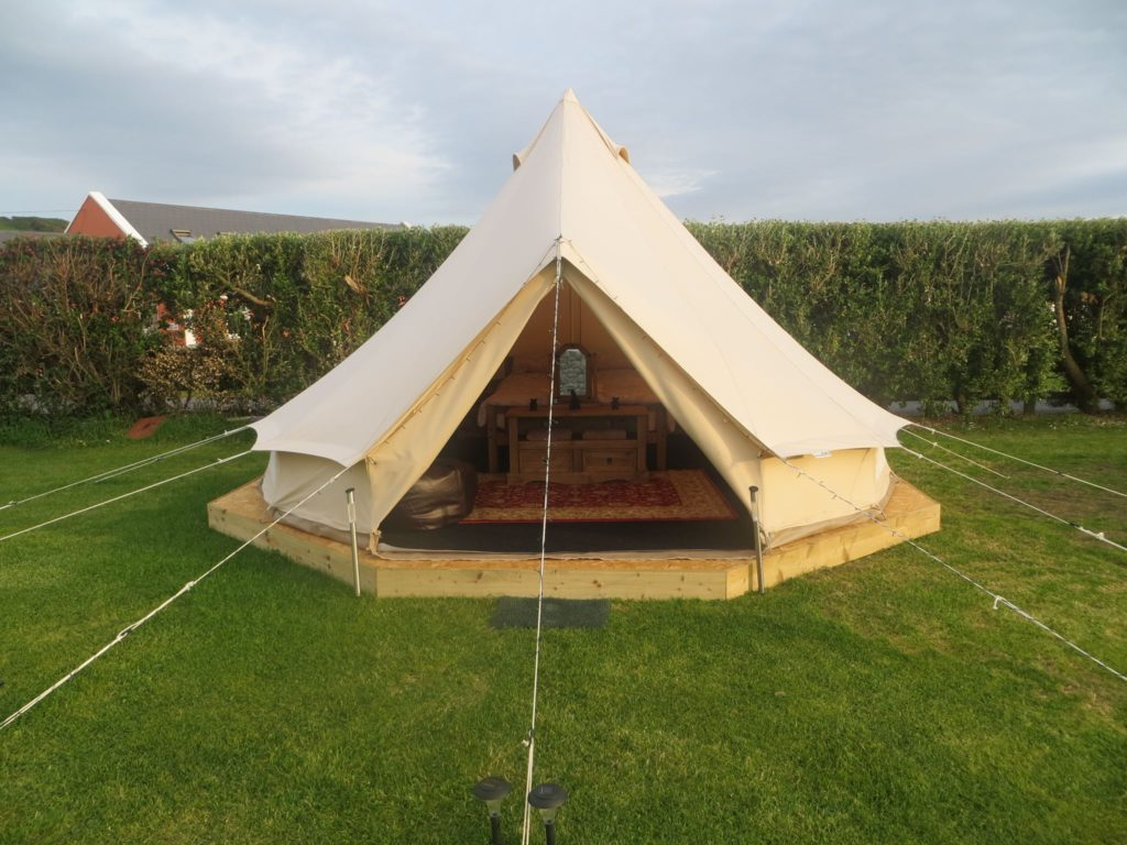 Doolin Camping is another of the top best places for glamping in Clare and the Aran Islands.