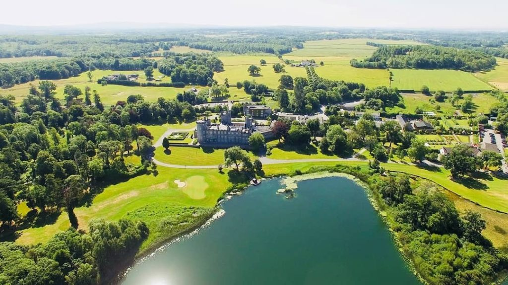The surrounding area of Dromoland Castle Hotel in County Clare is amazing.