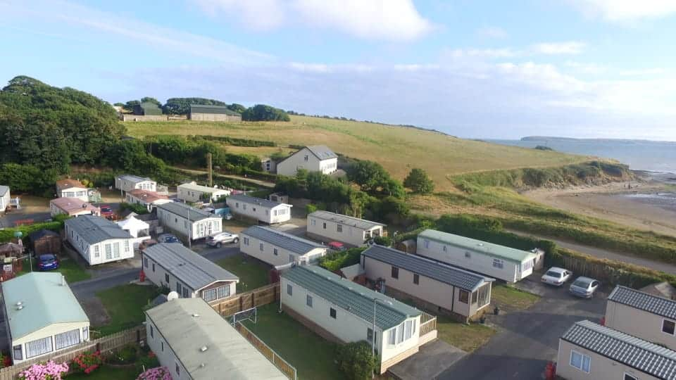 Duncannon Beach Holiday Park is another of the top picks for best caravan and camping parks in Wexford.