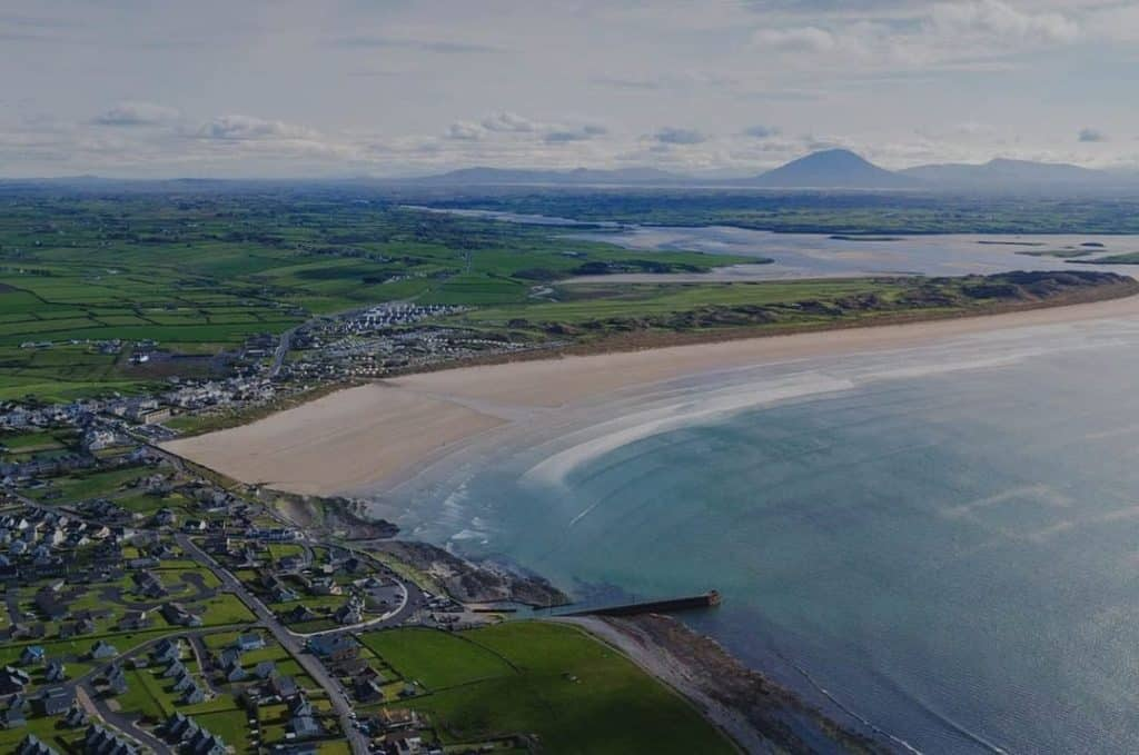 Looking seaside towns in Ireland for a staycation, Enniscrone is up there.